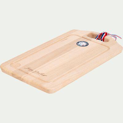 Planche à découper en bois de hêtre - bois clair 21,5x40cm-SABRE