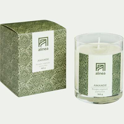 Bougie parfumée senteur Amande 160g-SIGNATURE