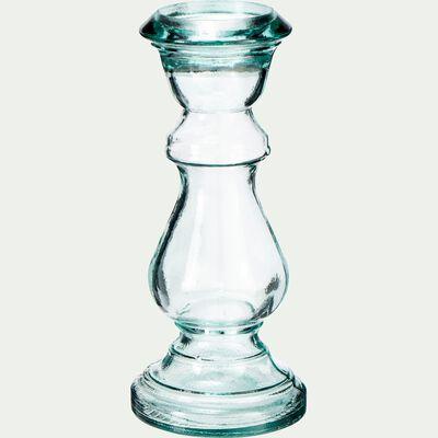 Chandelier à poser en verre - transparent D13xH30cm-HIRO