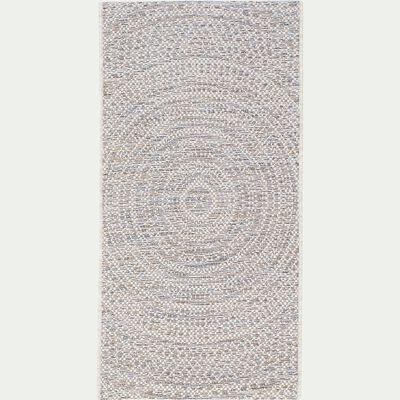 Tapis intérieur et extérieur - blanc écru 60x110cm-HYPNOSE