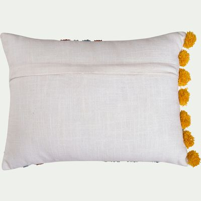 Coussin coton 30x40 cm - à motif-Pollen