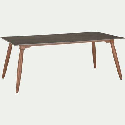 Table de repas en eucalyptus - 6 à 8 places-NANS