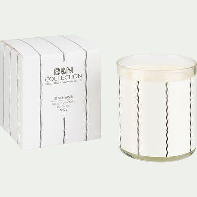Bougie parfumée senteur Bois de Cade 160g-BIANCO ET NERO