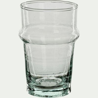 Verre à café transparent en verre recyclé 15cl-BELDI