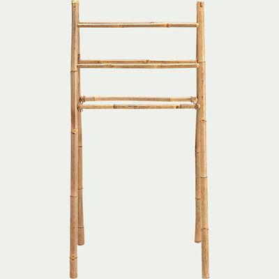 Porte serviette en bambou - H130xl64 cm-DENYS