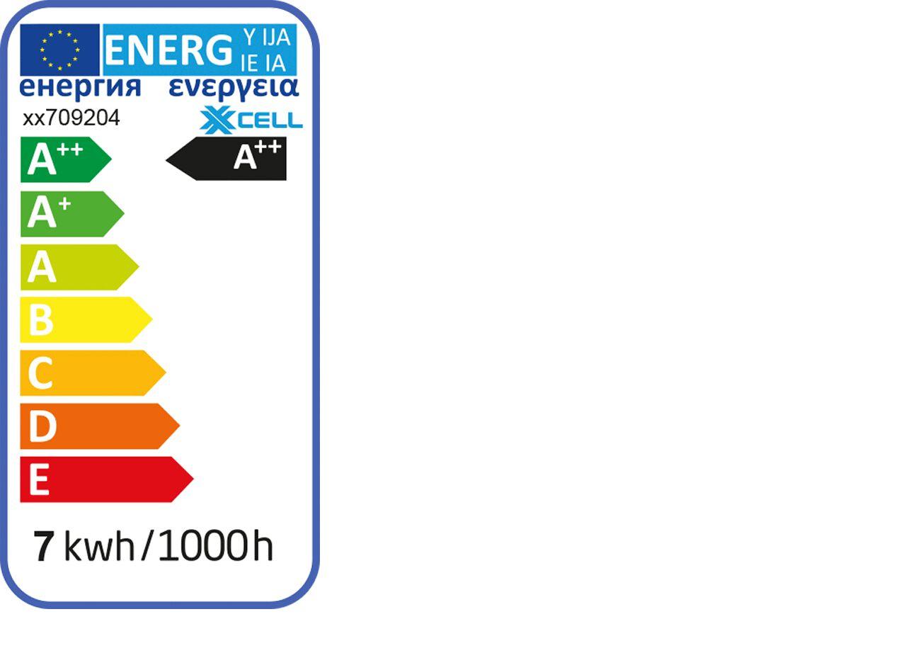 Ampoule LED en verre dépoli blanc froid D6cm culot E27-STANDARD