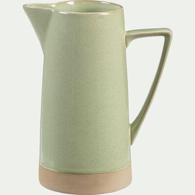 Pichet en grès 1,6L - vert-ESQUIROU