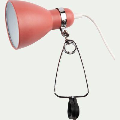 Lampe à pince - rouge h29,5cm-Bonnie