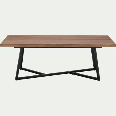 Table de repas rectangulaire piètement croisé - 8 places-TANIA