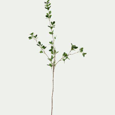 Tige artificielle - vert H97cm-FEUILLAGE