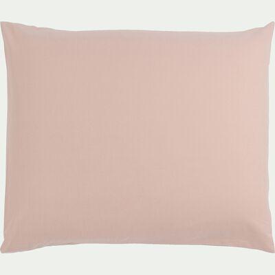Taie d'oreiller bébé en coton 35x45cm - rose rosa-Calanques