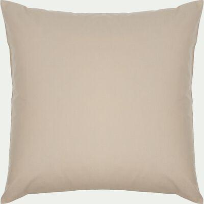 Taie d'oreiller enfant en coton 65x65cm - beige alpilles-Calanques