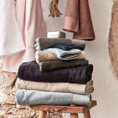 Gant de toilette en coton peigné - beige alpilles-Azur