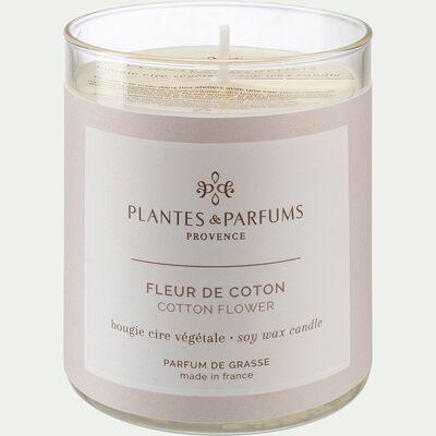 Bougie parfumée senteur Fleur de Coton 180g-MANON