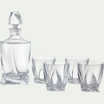 Carafe à whisky en cristallite 75cl-Quadro