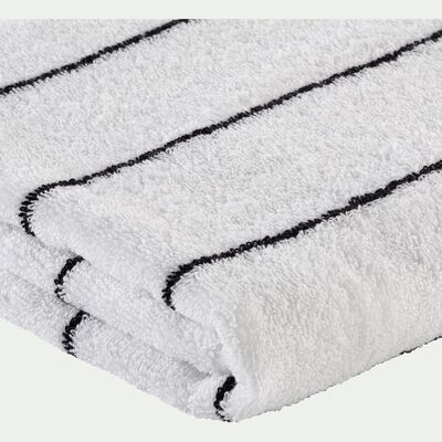 Linge de toilette en coton - blanc ventoux-GAETA
