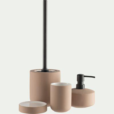 Set de salle de bain en grès - rose-CISTE