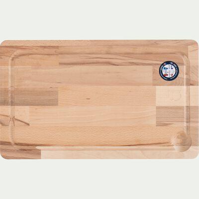 Planche à découper en bois de hêtre - bois clair 24x40cm-MABRE