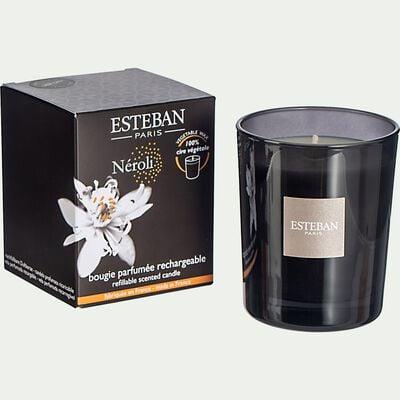 Bougie parfumée rechargeable Neroli - 170g-ESTEBAN