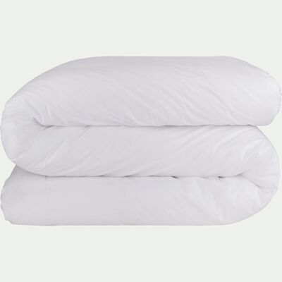 Housse de couette en coton - blanc 260x240cm-CALANQUES