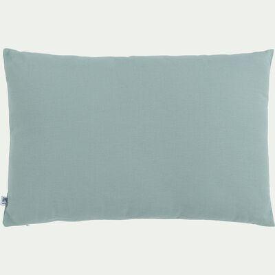 Coussin en coton - bleu calaluna 40x60cm-CALANQUES