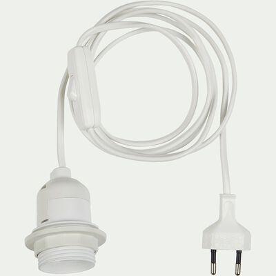 Monture électrique E27 - blanc L2m-MONTURE