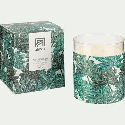 Bougie parfumée senteur Corfou 160g-SIGNATURE