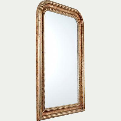 Miroir à moulures en bois - doré H115cm-ABRILO