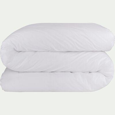 Housse de couette en coton - blanc 240x220cm-CALANQUES