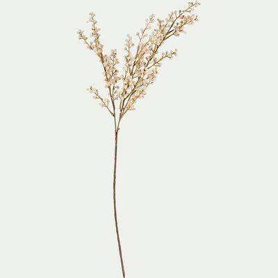 Tige artificielle à chatons - blanc rosé H70cm-CHARDON