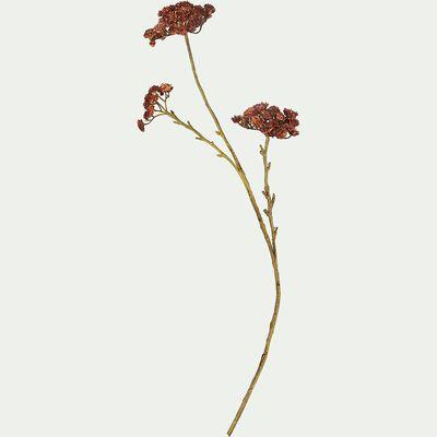 Fleur artificielle - rouge H76cm-CHARDON