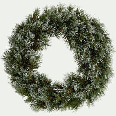 Couronne de Noël verte D45cm-BUZZINE