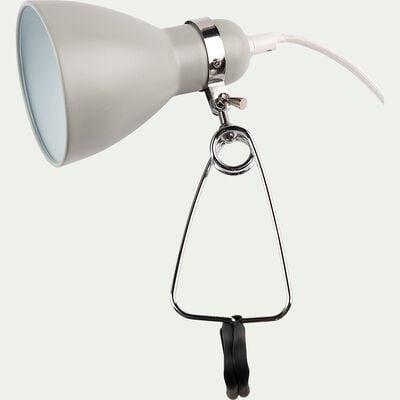 Lampe à pince - vert olivier h29,5cm-Bonnie