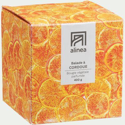 Bougie parfumée senteur Balade à Cordoue 400g-BALADE