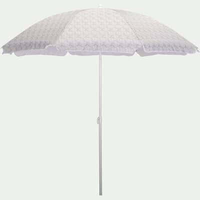 Parasol de plage motif amande (D180cm)-GASSIN