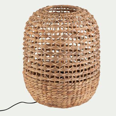 Lampe en rotin - D40xH50cm naturel-VENACO