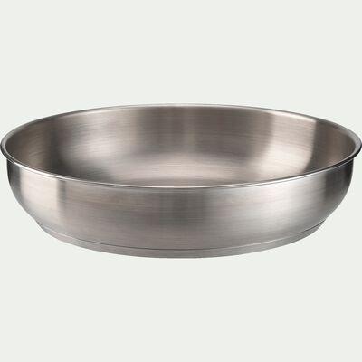 Poêle à frire en inox D28cm-COUZ