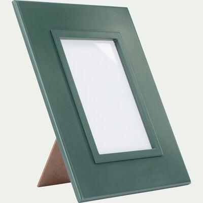 Cadre photo en bois - vert 23x28cm-ALARO