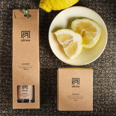 Diffuseur de parfum senteur Cedrat 100ml-ESSENTIEL