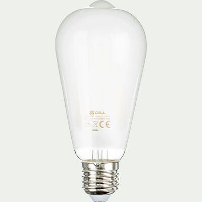Ampoule LED à filament poire culot E27 - blanc chaud-STANDARD