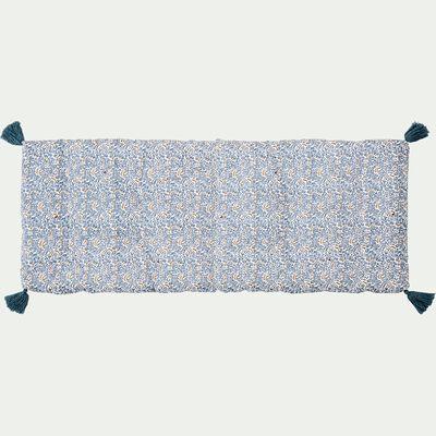 Coussin de banc en coton 33x94cm - multicolore-Saulette