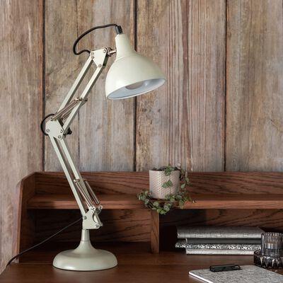 Lampe en métal - vert olivier H55x12cm-XXL