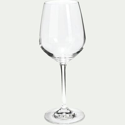 Coffret de 6 verres à vin en cristallin 34cl-Scena