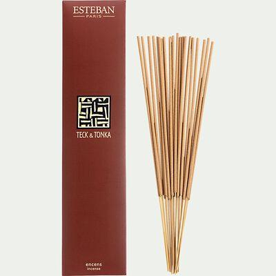 Encens indiens teck et tonka - naturel-ESTEBAN