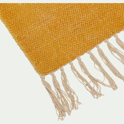Descente de lit lirette - jaune moutarde 70x140cm-Artus