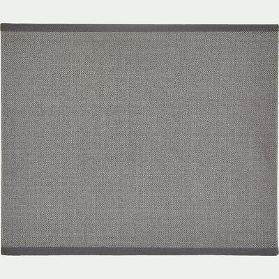 Applique non électrifiée en tissu gris restanque 24x20cm-MISTRAL