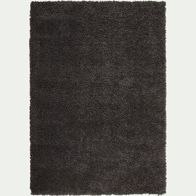 Tapis à poils longs - gris 120x170cm-Kris
