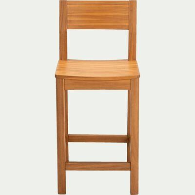 Chaise de bar en acacia - naturel H60cm-UMBRA