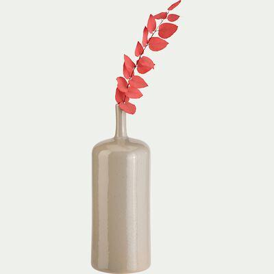 Vase en céramique - beige alpilles H35,5cm-ARTA