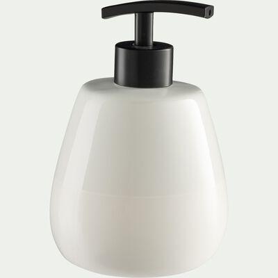 Distributeur de savon en grès - blanc-SPINA